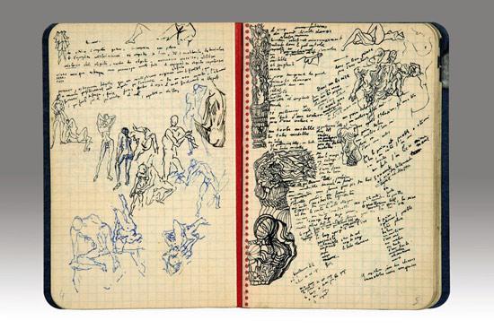 Corpi dal diario di Salvaro Dalí