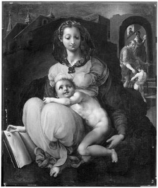 Francesco Morandini detto il Poppi, Madonna col Bambino