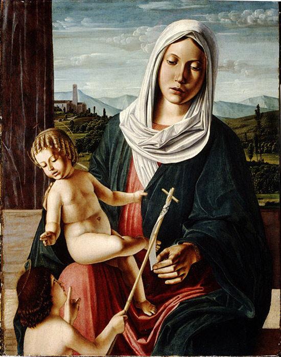 Michele da Verona, Madonna col Bambino e san Giovannino