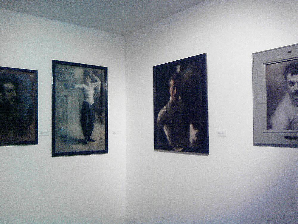 I dipinti di Arturo Rietti sulla scherma al Museo Revoltella di Trieste