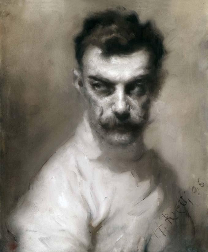 Arturo Rietti, Ritratto del maestro Luigi Barbasetti