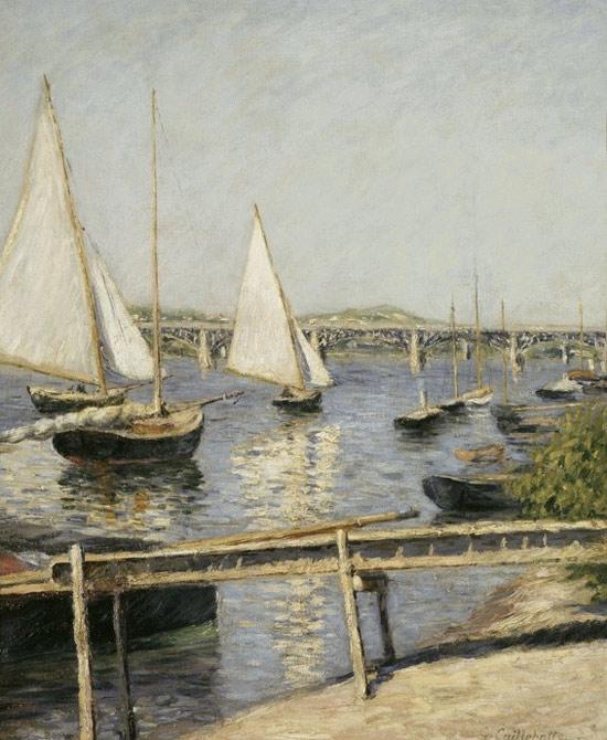 Arte e sport la vela secondo gustave caillebotte finestre sull 39 arte - Finestre per barche ...