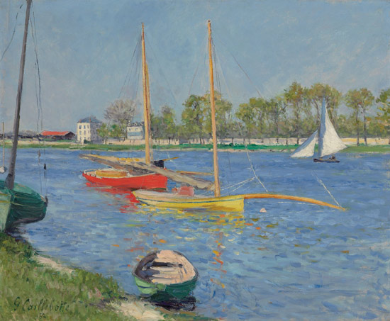 Gustave Caillebotte, La Senna ad Argenteuil