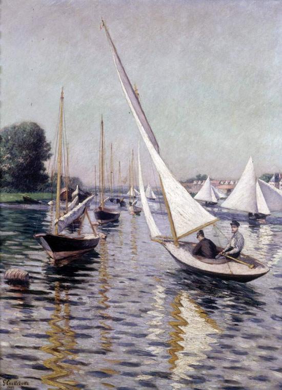 Gustave Caillebotte, Regata ad Argenteuil