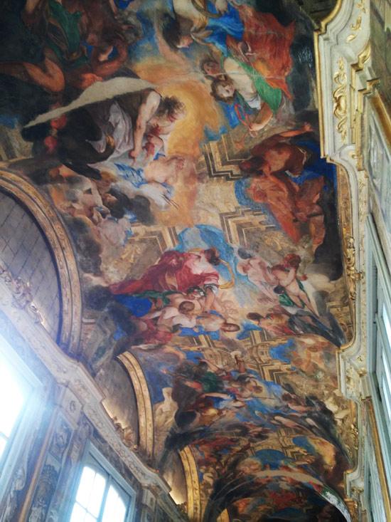 Valerio Castello, Galleria del Ratto di Persefone