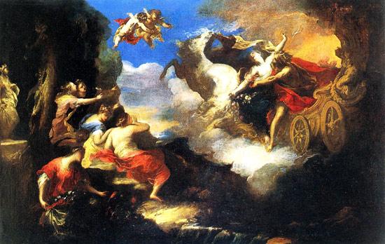 Valerio Castello, Il ratto di Persefone