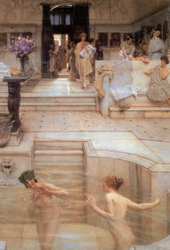 Lawrence Alma-Tadema, L'abitudine preferita