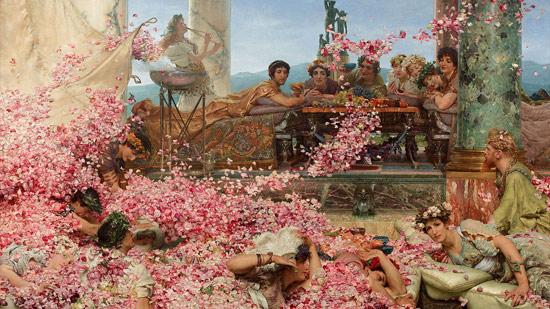 Lawrence Alma-Tadema, Le rose di Eliogabalo