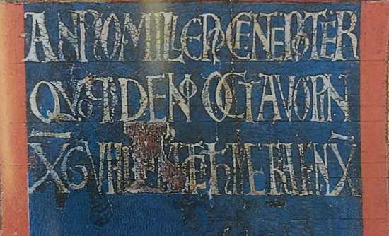 L'iscrizione