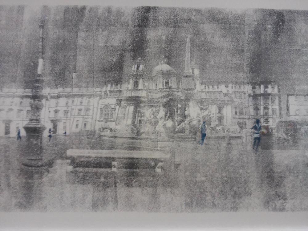 Andrea Aquilanti, Veduta di piazza Navona (particolare)