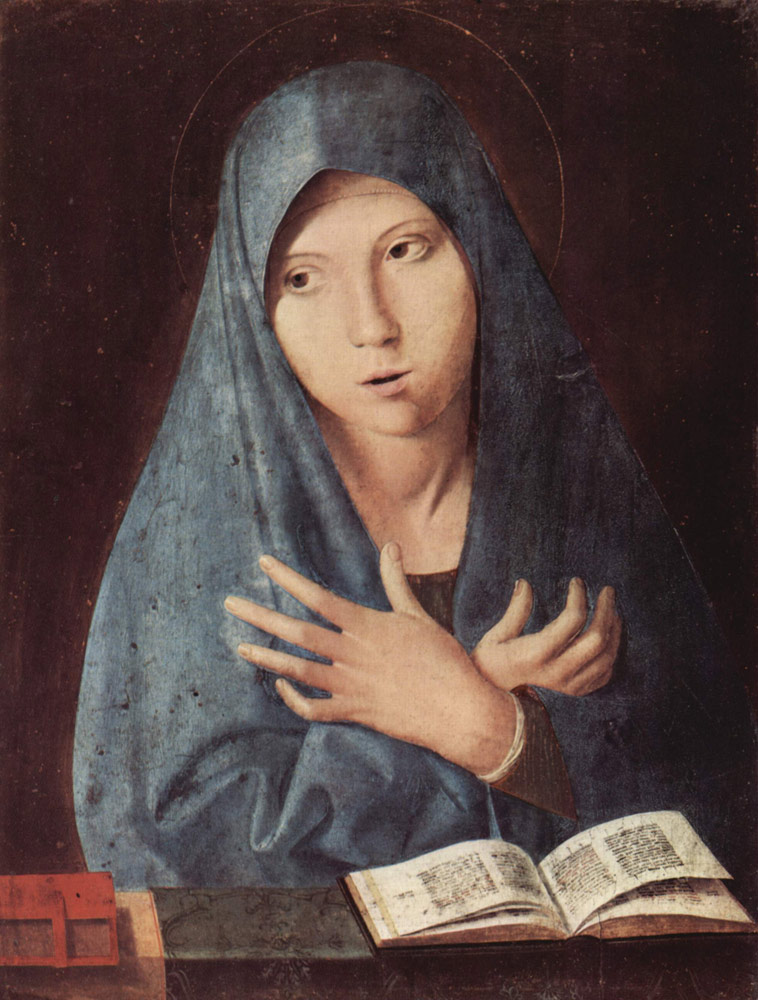 Antonello da Messina, Annunciata