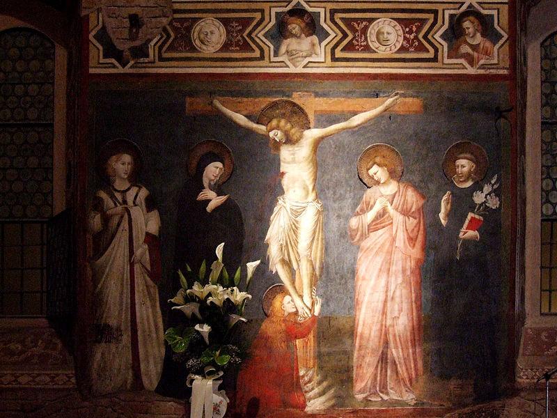 Il Cappellone di San Nicola: la Crocifissione