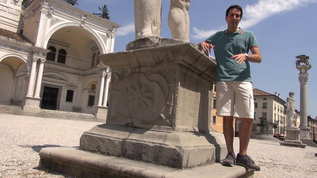 Fabrizio a Udine in Piazza Libertà