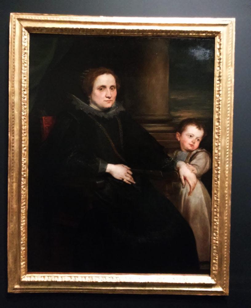 Anton van Dyck, Ritratto della marchesa Spinola