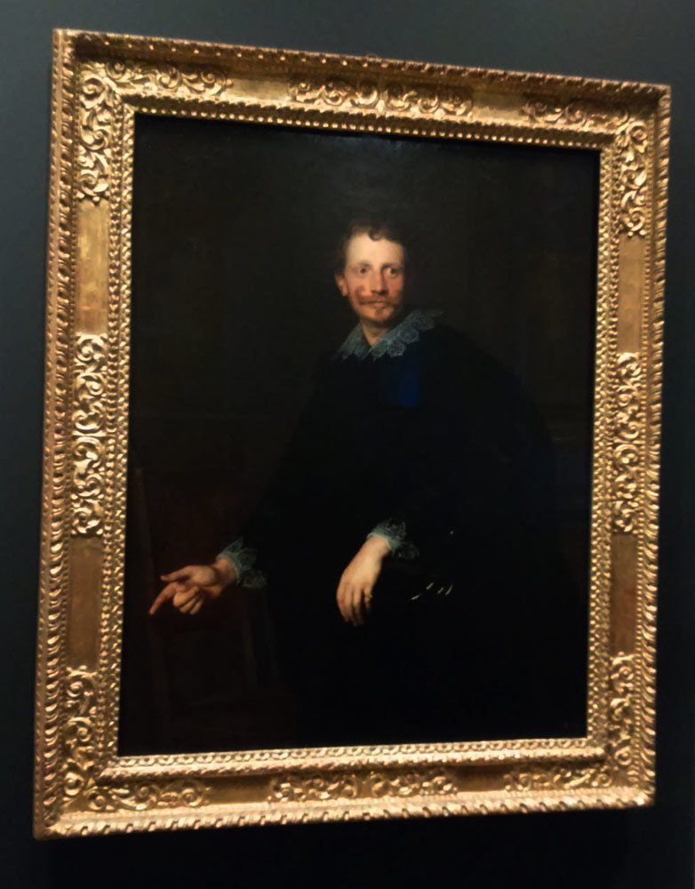 Anton van Dyck, Ritratto di Desiderio Segno