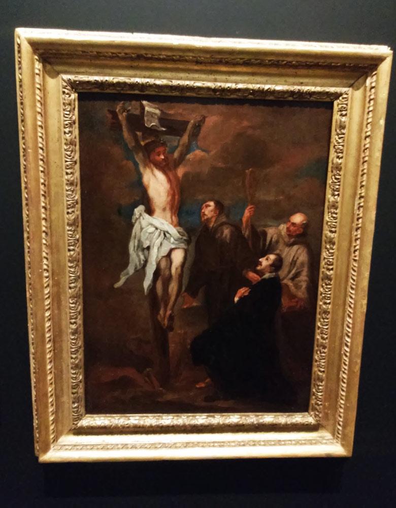 Copia dalla Crocifissione di Anton van Dyck