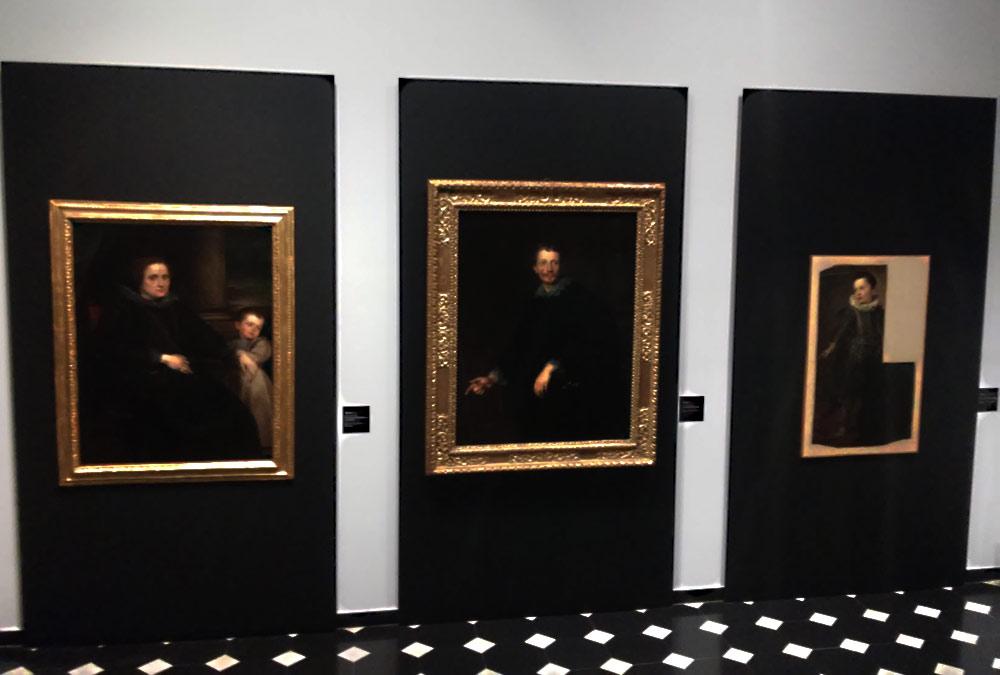 I tre ritratti di Anton van Dyck a confronto