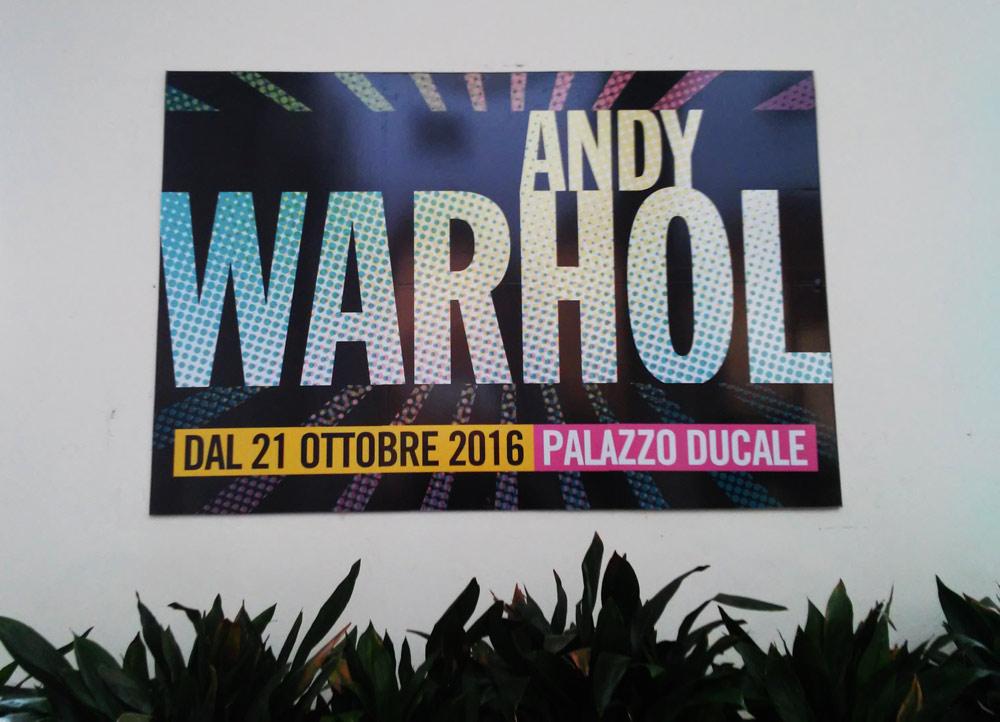 "Benvenuti a ""Andy Warhol. Pop society"""