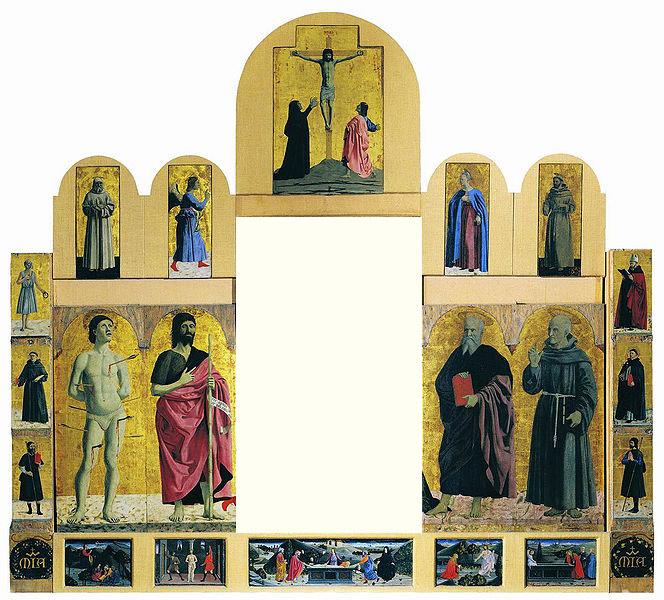 Piero della Francesca, Polittico della Misericordia senza tavola centrale