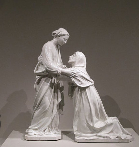 Luca della Robbia, Visitazione