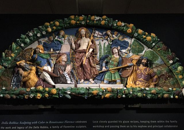 Della  Robbia. Sculpting with Color in Renaissance Florence riaprirà il 5 febbraio a Washington
