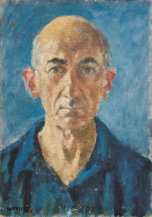 Ardengo Soffici, Autoritratto