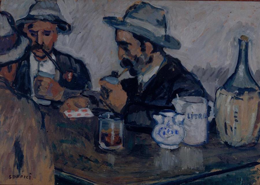 Ardengo Soffici, I giocatori di carte