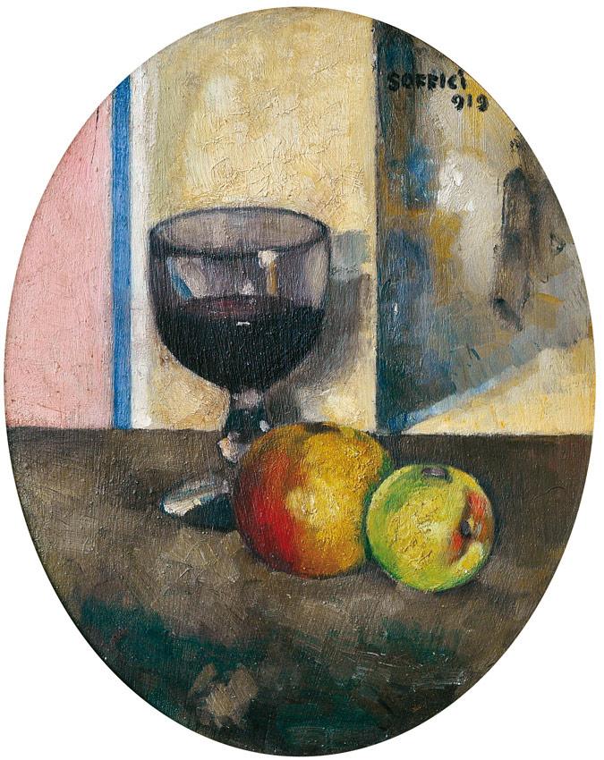 Ardengo Soffici, Mele e calice di vino