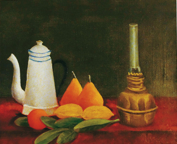 Ardengo Soffici, Natura morta d'après Rousseau