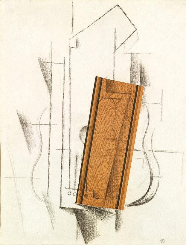 Georges Braque, Natura morta con chitarra