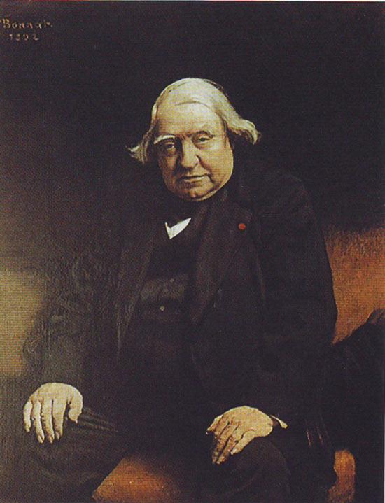 Léon Bonnat, Ritratto di Ernest Renan