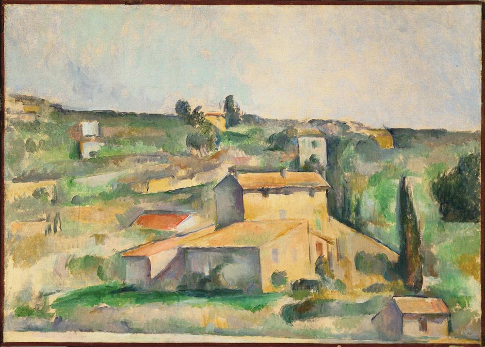 Paul Cézanne, Campagnes de Bellevue (Paesaggio)