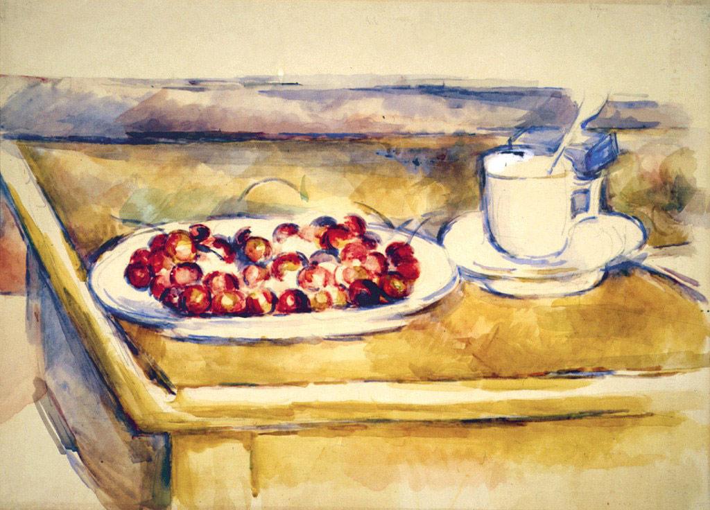 Paul Cézanne, Natura morta con ciliegie