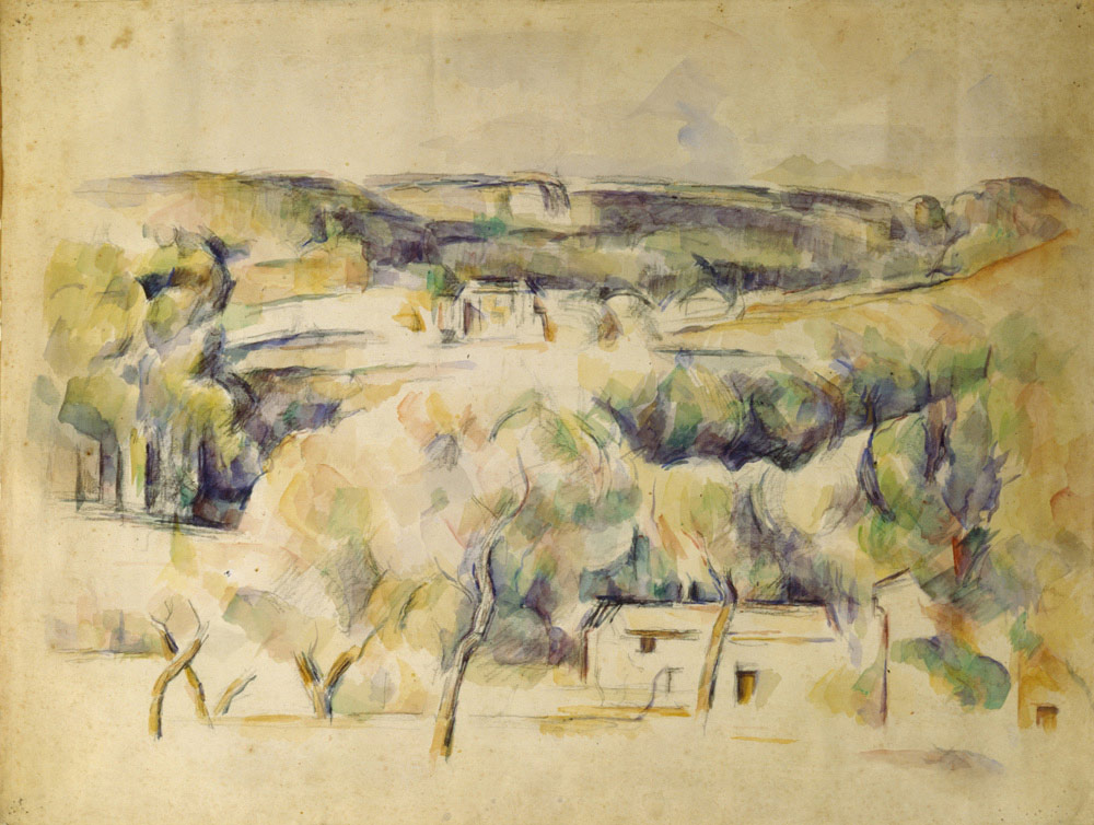 Paul Cézanne, Paesaggio provenzale