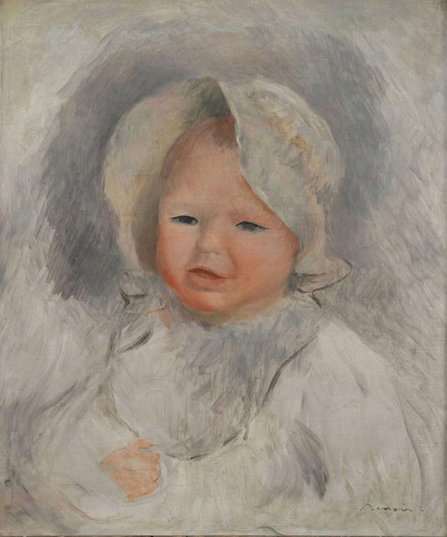 Pierre-Auguste Renoir, Ritratto infantile