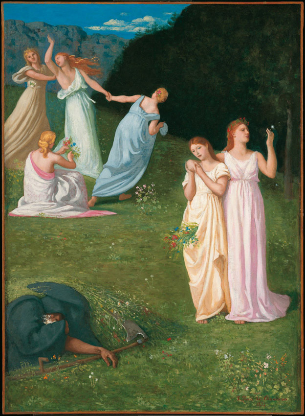 Pierre Puvis de Chavannes, Les jeunes filles et la mort
