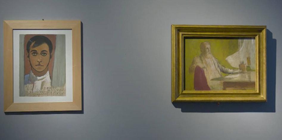 Autoritratti di Soffici e Böcklin