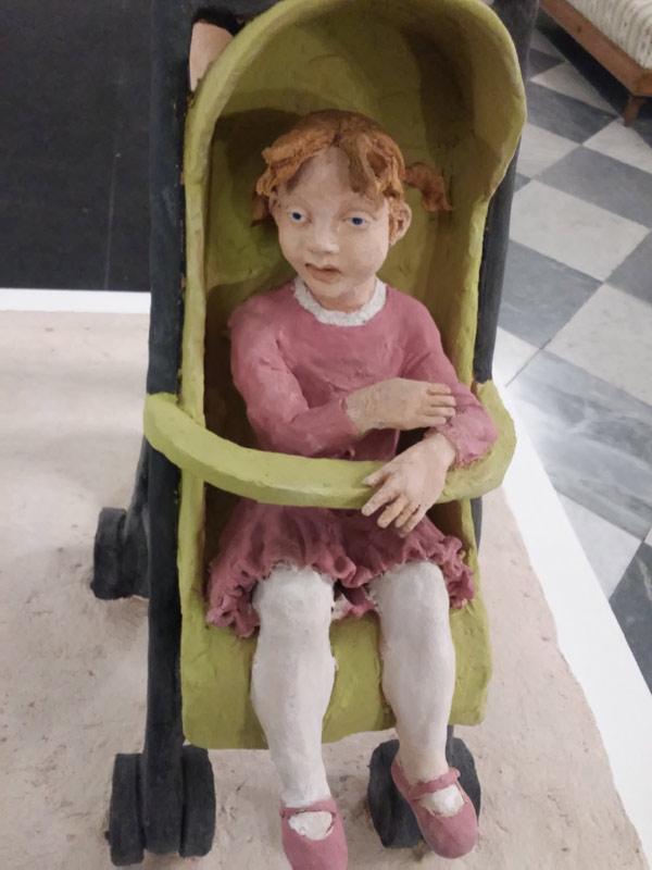 """Particolare bambina in """"A passeggio"""""""