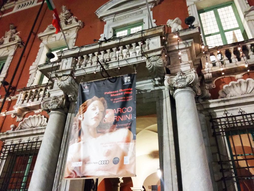 La mostra di Marco Cornini a Palazzo Ducale, Massa