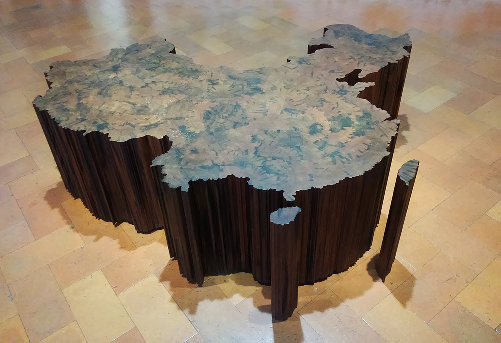 Ai Weiwei, Map of China