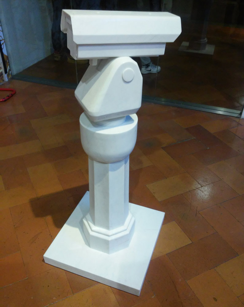 Ai Weiwei, Surveillance Camera with plinth
