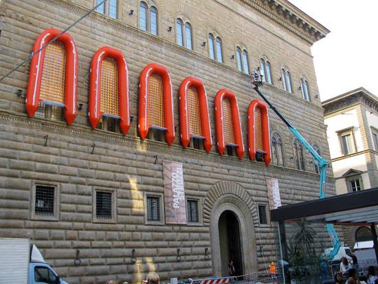 Allestimento di Reframe di Ai Weiwei