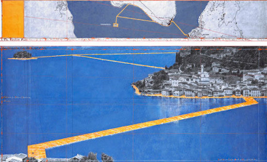 Christo e Jeanne-Claude, The Floating Piers