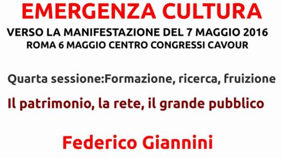 Federico Giannini, Il patrimonio, la rete, il grande pubblico