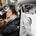"""Milo Moiré si fa masturbare in pubblico: un remake di """"Tapp-und Tastkino"""" di Valie Export"""