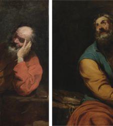 L'estro naturalista di Luciano Borzone in due intensi santi