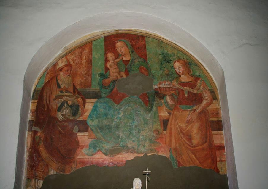 Madonna con Bambino e santi nella chiesa di San Silvestro