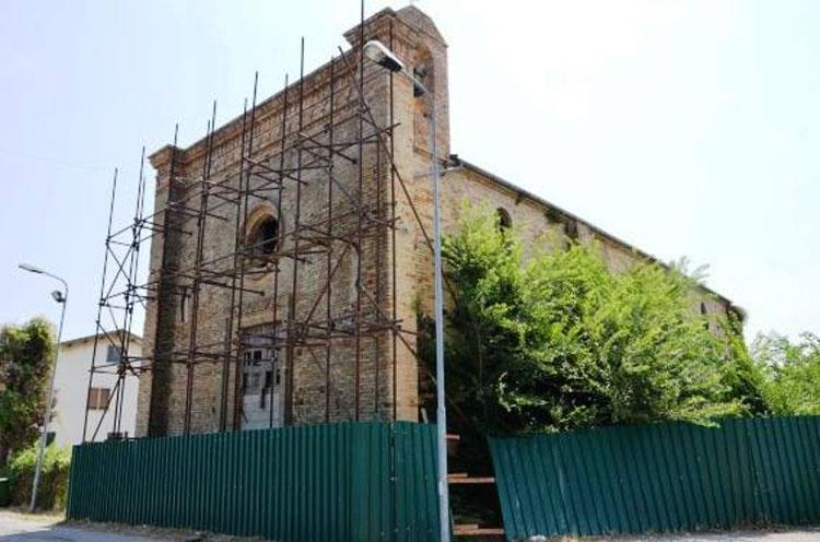 Madonna della Consolazione a Mutignano, Stato attuale della facciata