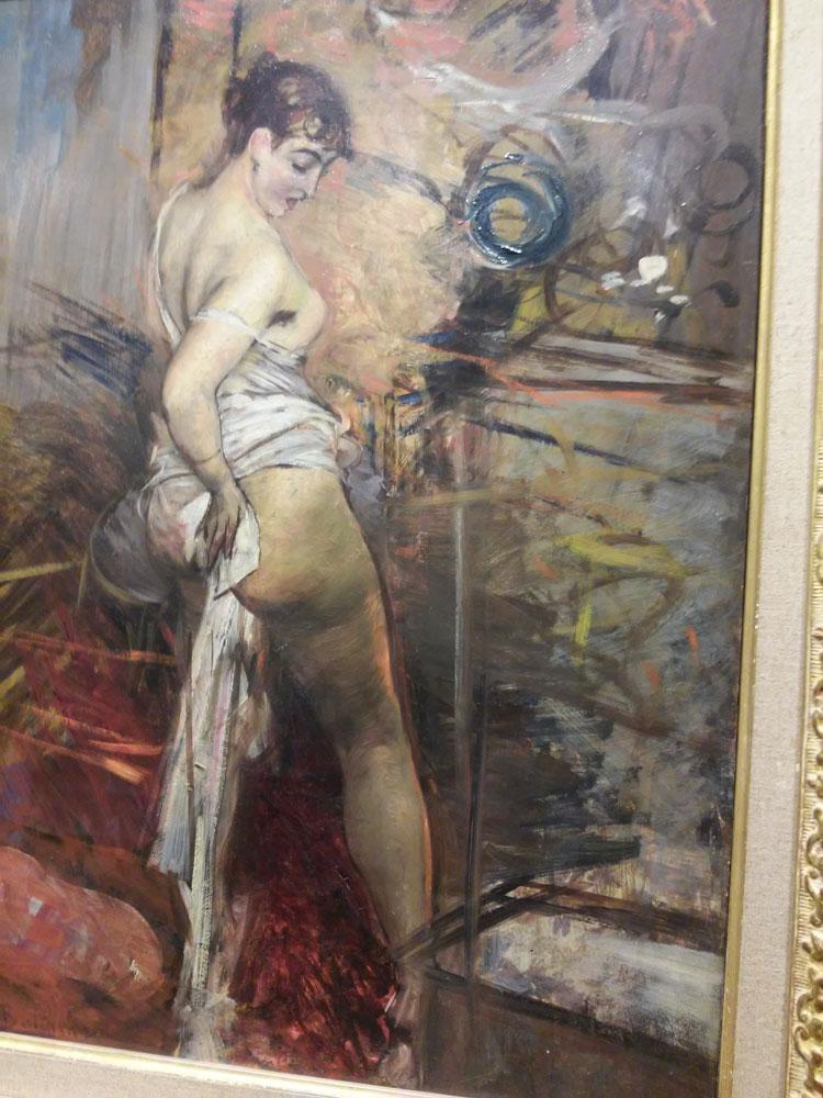 Giovanni Boldini, La Toilette