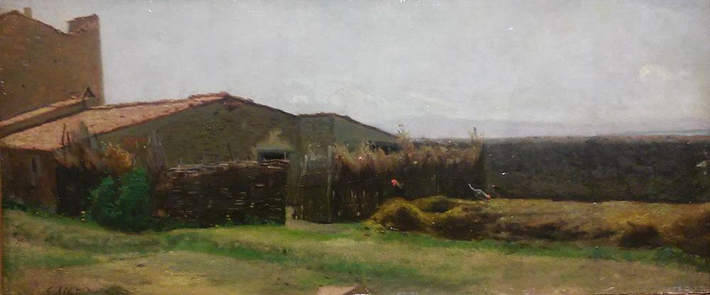 Giuseppe Abbati, La casa di Diego Martelli a Castiglioncello